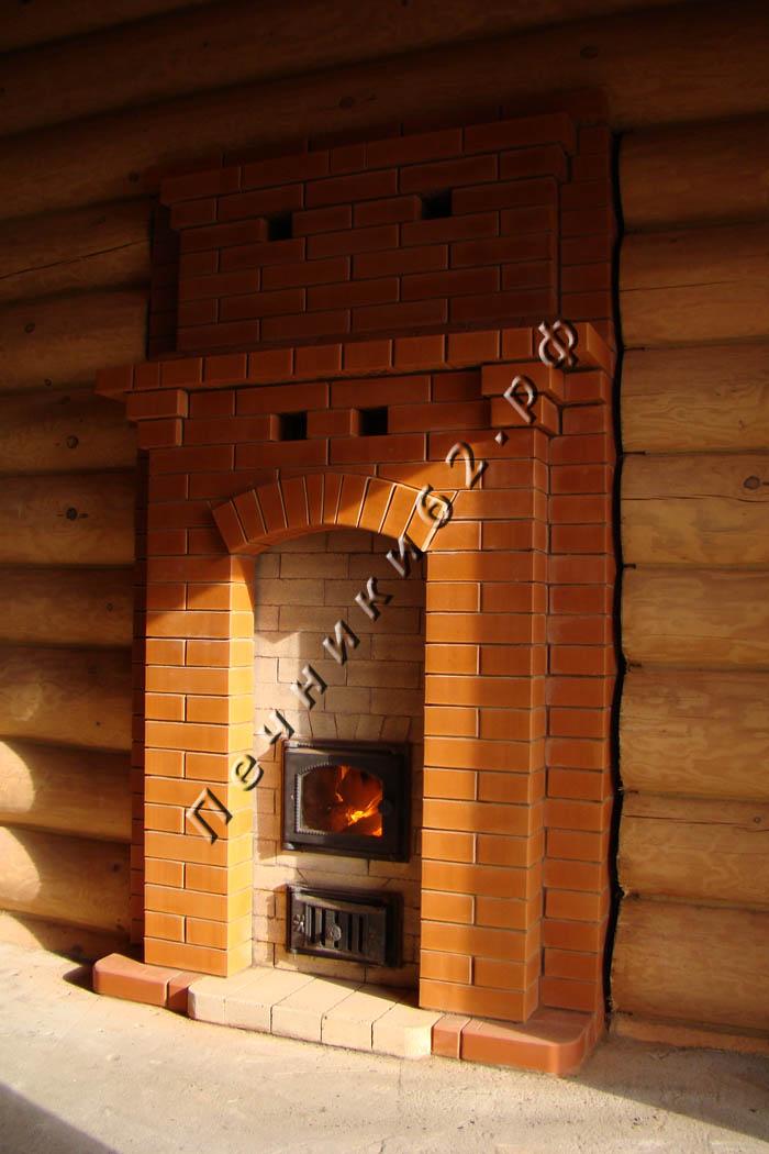 Кирпичная печь в баню фото
